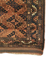 Antique Turkmen Yomud Small Rug 3'1 x 4'8