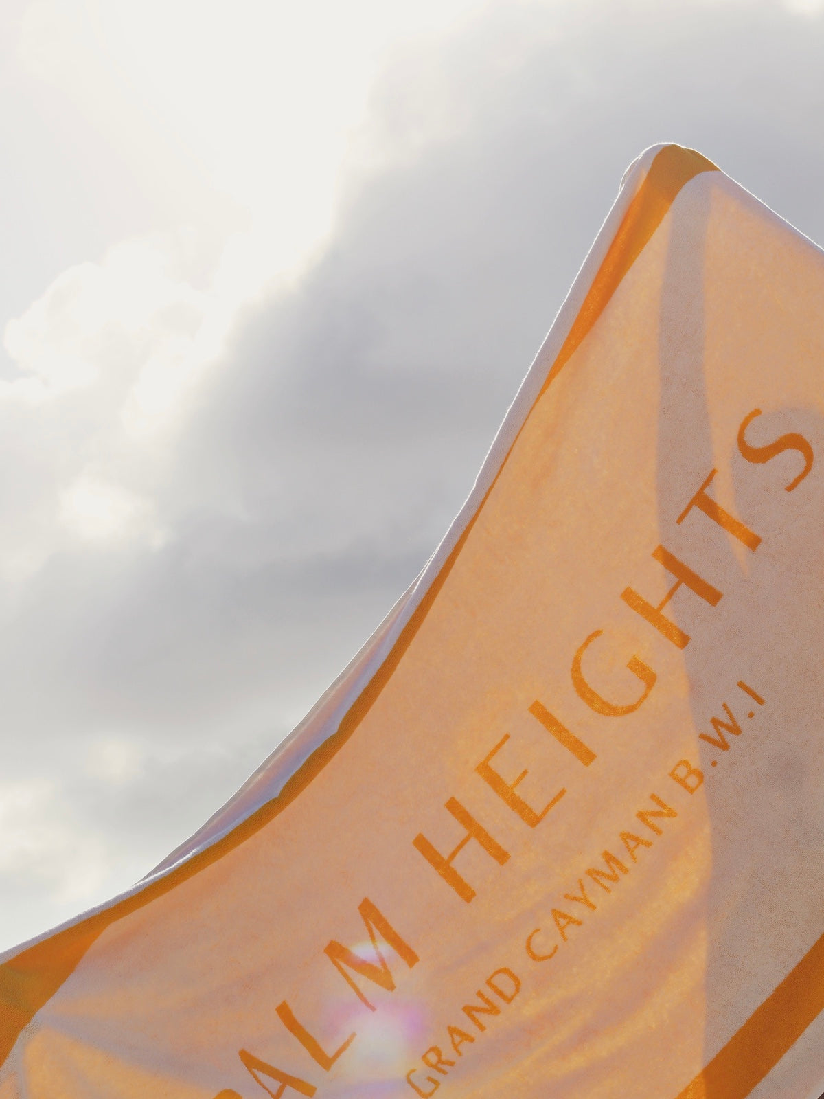 Palm Heights beach towel