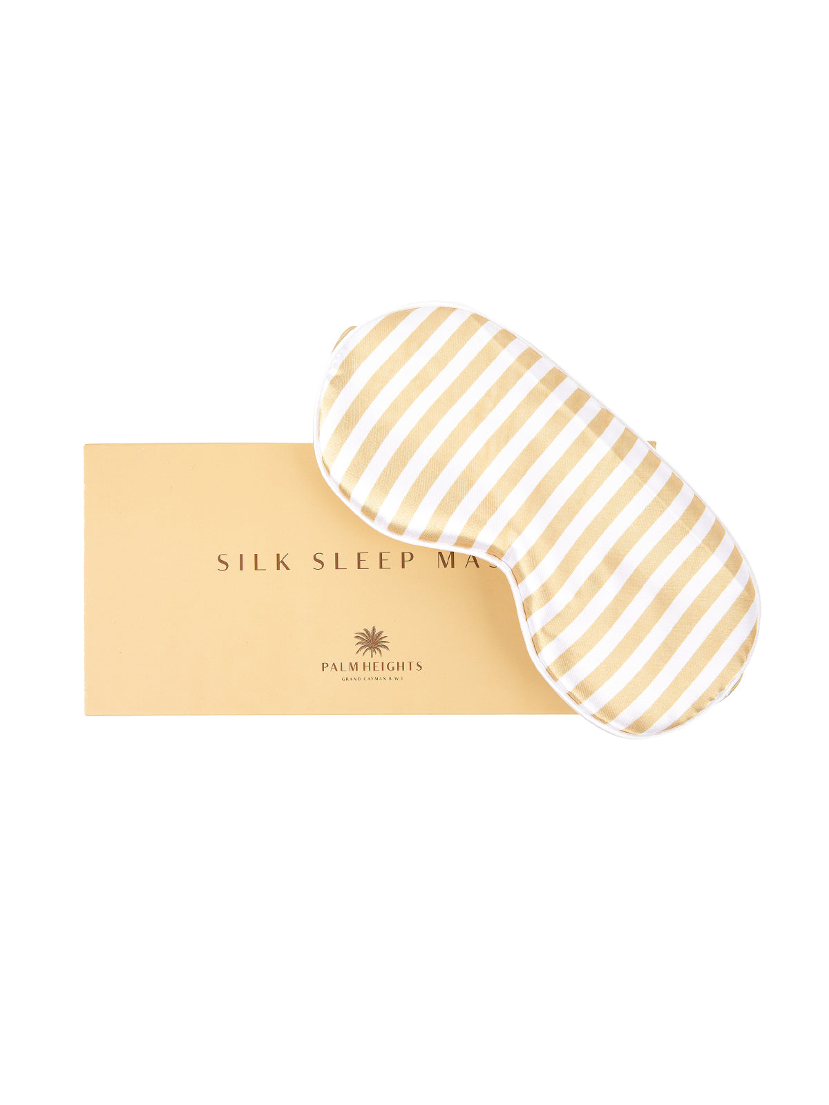 silk sleeping mask with packaging