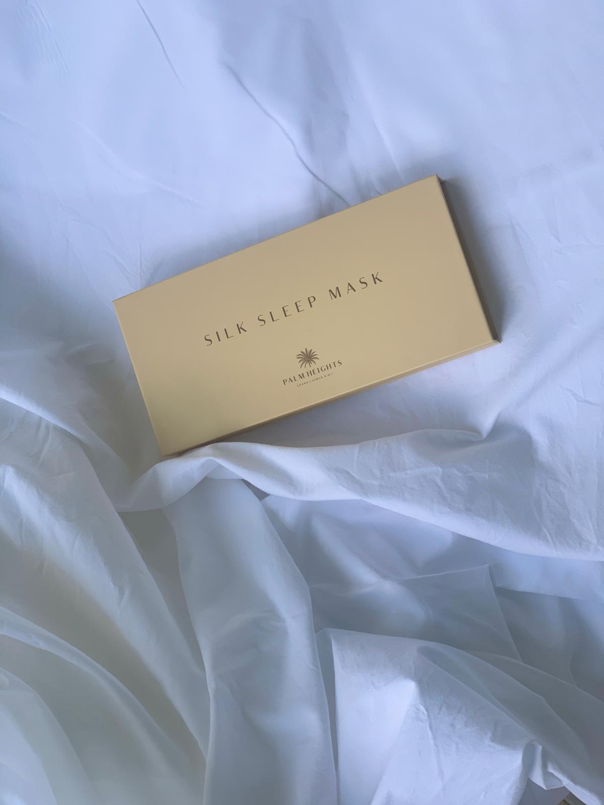 silk sleeping mask gift box
