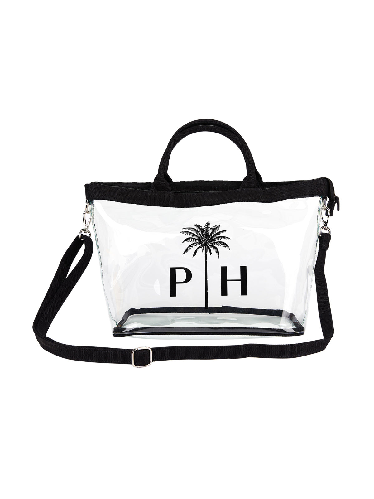 transparent beach bag Palm Heights