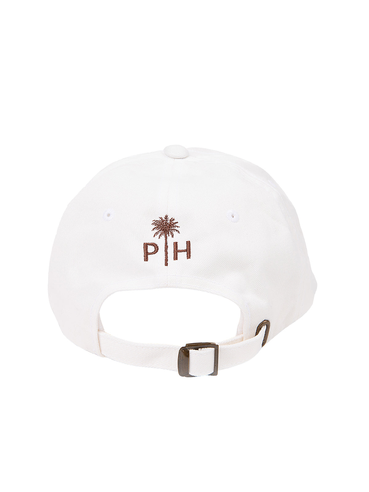 Palm Heights baseball hat white
