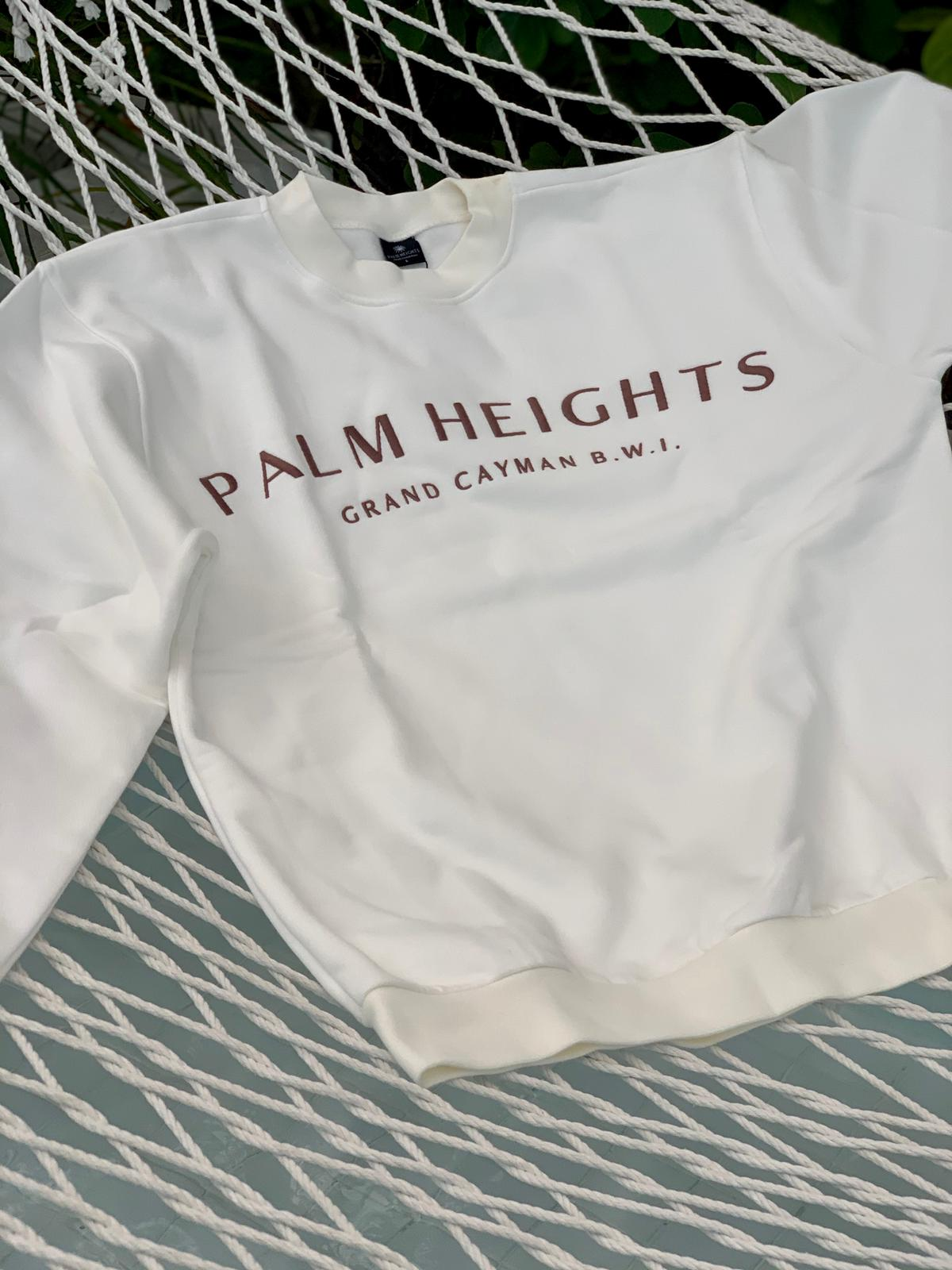 Palm Height Cotton Sweatshirt
