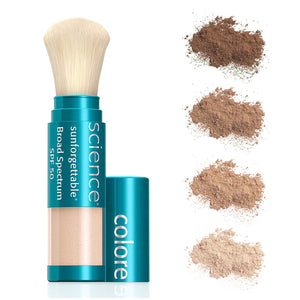 All-Mineral Brush On Sunscreen Sunforgettable | Colorescience