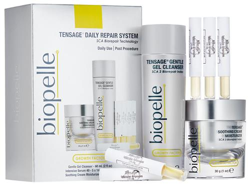 Skin Repair and Healing | Biopelle Tensage Daily Repair System