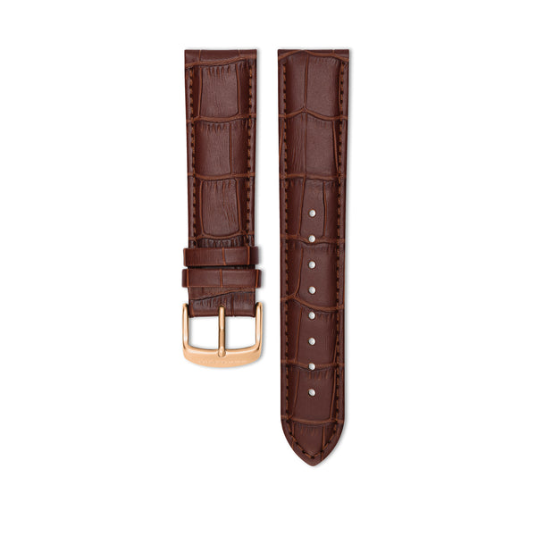 Bellevue Brown Leather Strap