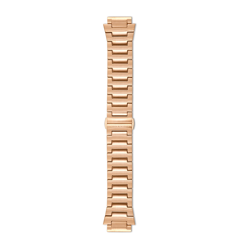 Downtown 3-H Rosegold Stainless Steel Bracelet