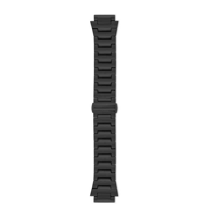 Downtown 3-H Black Stainless Steel Bracelet