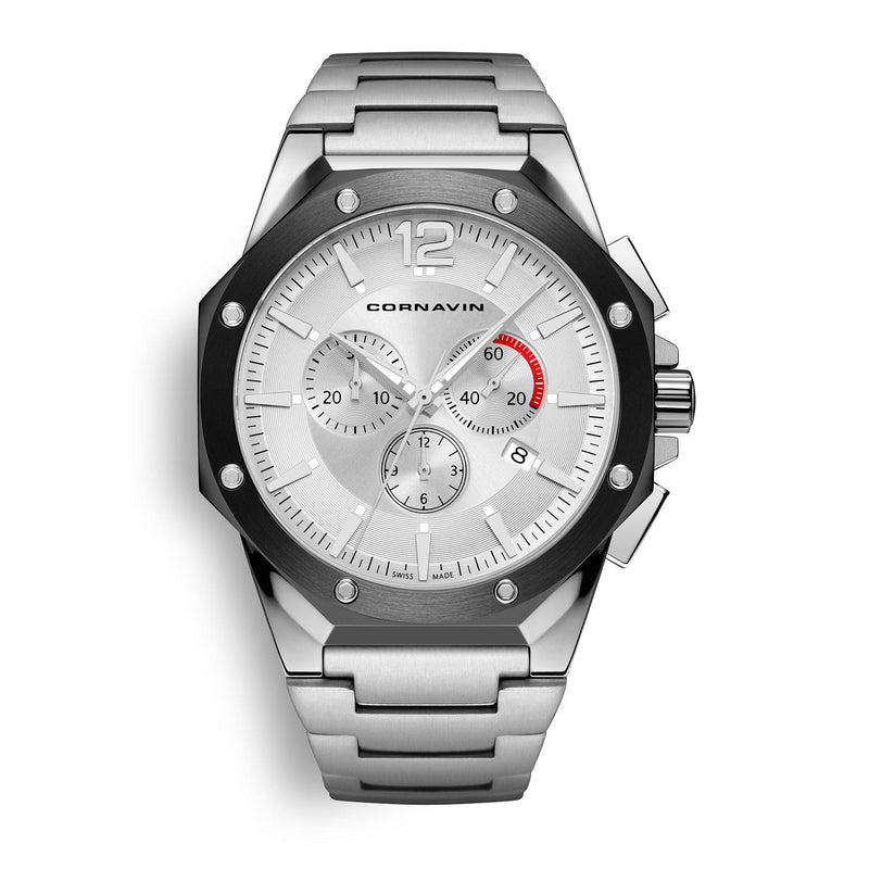 CORNAVIN CO 2010-2008 - Swiss Made Watch Chronograph