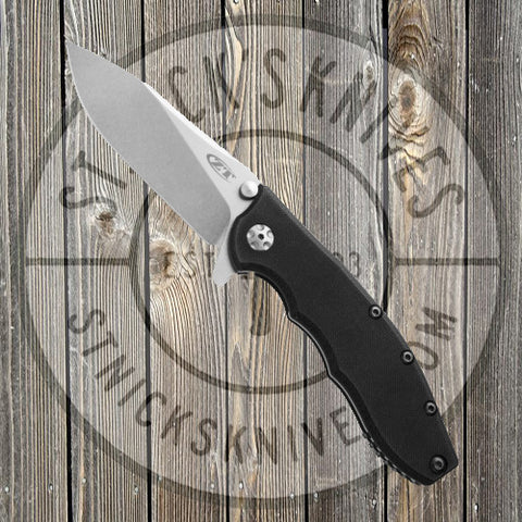 Zero Tolerance - Hinderer Slicer -  Black - G-10 - Stonewash - 0562 - CLOSEOUT