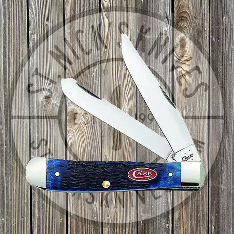 Case - Mini Trapper - Navy Blue Bone - 07321