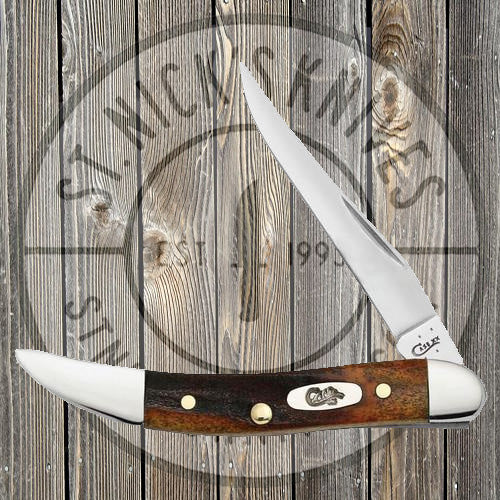 Case - Red Stag - Small Texas Toothpick - 08469