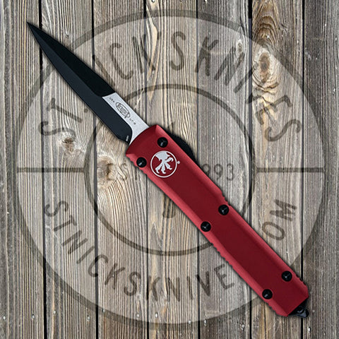 Microtech - Ultratech - Bayonet - Satin Standard - Red Chassis - 120-1RD