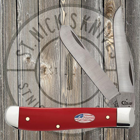 Case - American Workman - Red Synthetic - Mini Trapper - 13453