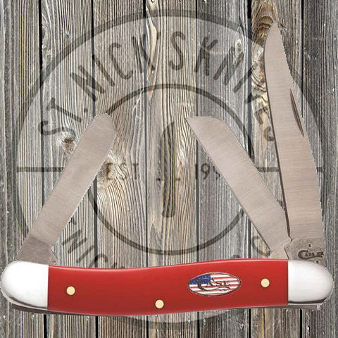 Case - American Workman - Red Synthetic - Med. Stockman - 13454