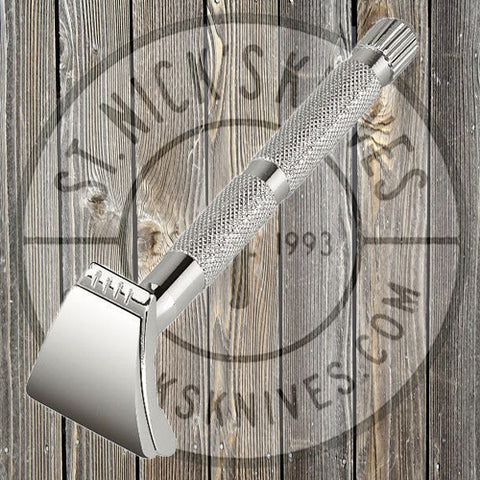 Colonel Conk - Merkur -  Moustache/ Brow Razor - Chrome - 136
