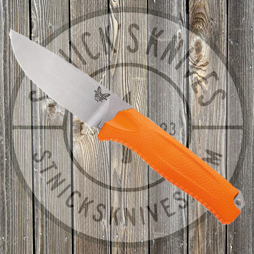 Benchmade - Steep Country - Orange - Fixed - 15008-ORG