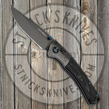 Benchmade - Crooked River - Gold Class - 20CV - Damasteel Bolster - Anodized Titanium Hardware