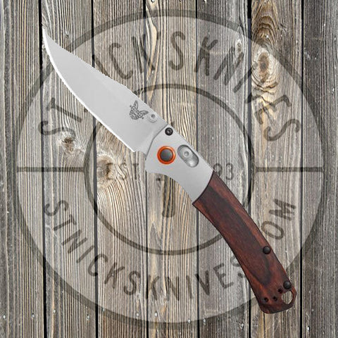 Benchmade - Mini Crooked River - AXIS Lock - HUNT Series - Dymondwood - 15085-2