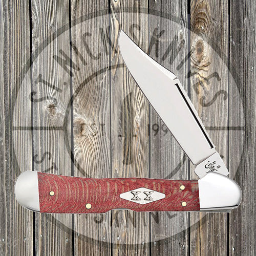 Case - Copperlock - Sycamore Wood - Red - 17143