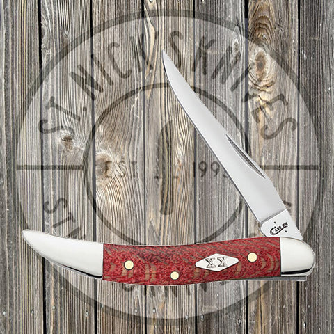 Case - Texas Toothpick - Sycamore Wood - Red - 17144