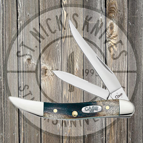 Case - Small Texas Toothpick - Midnight Stag - 224481