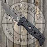 Benchmade - Adamas - Folding Knife - CPM-Cruwear - DLC Serrated Blade - 275SGY-1