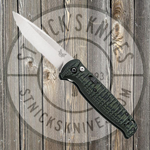 Benchmade - CLA - Compact Lite - Automatic -  Green/Black G-10 - 4300-1