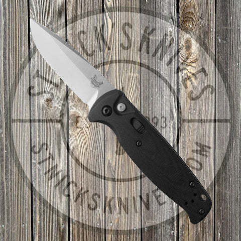 Benchmade - CLA - Drop Point - Automatic - Black - G-10 - 4300