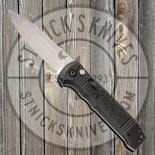 Benchmade - Casbah - Automatic - Black Grivory - Plain Edge - 4400