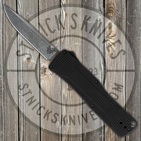 Benchmade - Om - D/A OTF - Automatic - Black Handle - CPM-S30V - 4850