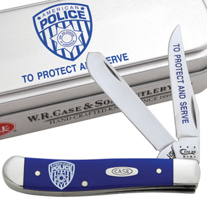 Case - Mini Trapper - Police Dept. - Blue - 05453