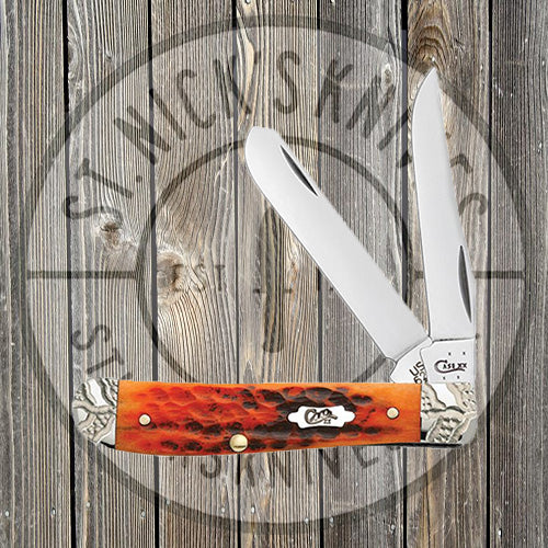 Case - Autumn Bone - Worked Bolster - Mini Trapper - 53229
