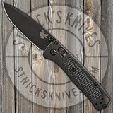 Benchmade - Mini Bugout - AXIS Lock - Black Grivory - 533BK-2
