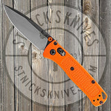 Benchmade - Mini Bugout - AXIS Lock - Orange Grivory - 533