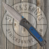 Benchmade - Bugout - Gold Class - Damasteel - Carbon Fiber - 535-191