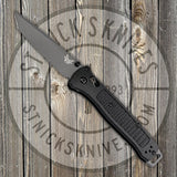 Benchmade - Bailout - 3V Blade - Tanto - Black Grivory Handle - 537GY