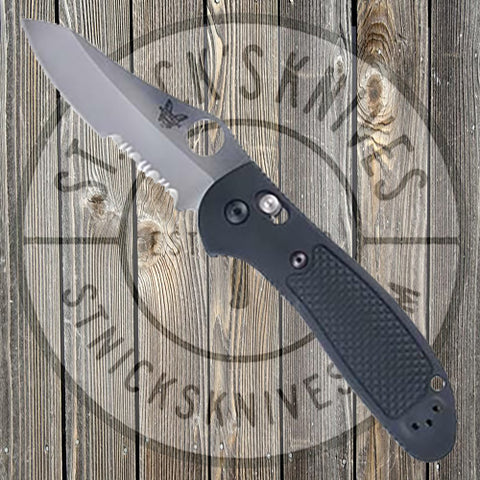 Benchmade - Griptilian - Hollowground - Combo Blade - 550SHG - CLOSEOUT