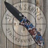 Benchmade - Presidio II - AXIS Lock - Plain Edge - Camo - 570BK-1801 - St. Nick's Knives