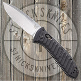 Benchmade - Mini Presidio II - Automatic - Satin Blade - Plain Edge - 5750 - St. Nick's Knives