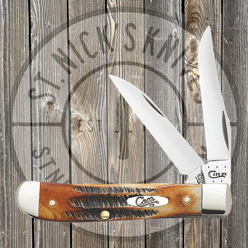 Case - Burnt 6.5 Bonestag - Wharncliffe Mini Trapper - 65305