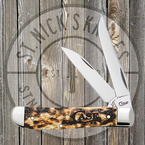 Case - Mini Trapper - Natural Toasted Bone - 67911