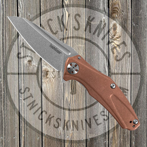 Kershaw - Copper Natrix - A/O - Sub-Frame Lock - Copper Scales - 7007CU
