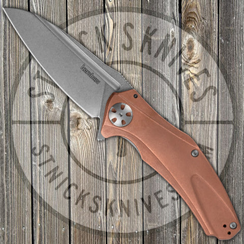 Kershaw - Natrix - XL Copper - Sub-Frame Lock - Copper Scales - CPM-D2 - 7008CU