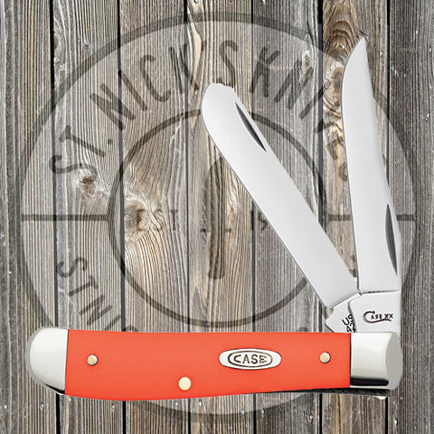 Case - Mini Trapper - Orange Synthetic Smooth - 80505