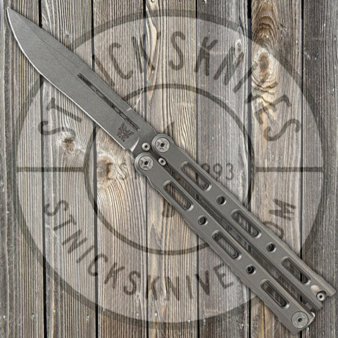 Benchmade - 85 - Balisong - Butterfly Knife - Titanium Handle - S30V Blade