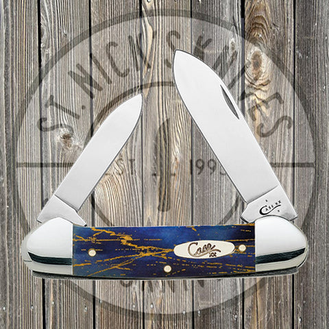 Case - Canoe - Electric Storm Navy Blue Bone - 880102