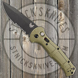 Benchmade - Claymore - Automatic - CPM-D2 Blade - Grivory Handle - 9070SBK-1