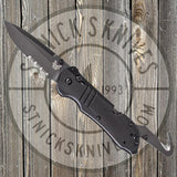 Benchmade - Tactical Triage - Rescue Knife - Black - Drop Point - Combo Edge - 917SBK