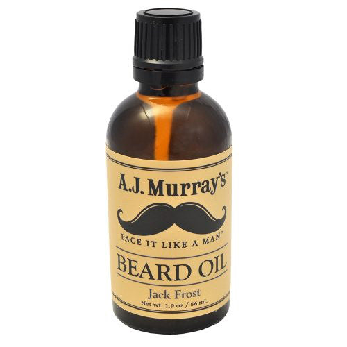 A.J. Murrays - Beard Oil - Jack Frost - AJ-BO-JF - St. Nick's Knives